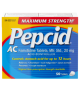 Pepcid AC Maximum Strength Tablets
