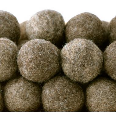 Moss Creek Wool Works Wool Dryer Balls in Grey