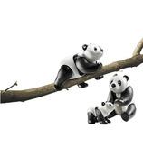 Playmobil Family Fun pandas avec bébé