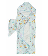 Loulou Lollipop Hooded Towel Set Up Up Away