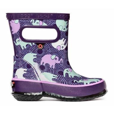Bogs Skipper Elephants Purple Multi