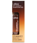 Lafes Dry Shampoo Tinted to Match Brunette Hair