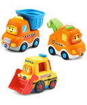 VTech Go! Go! Smart Wheels Construction Vehicle Pack