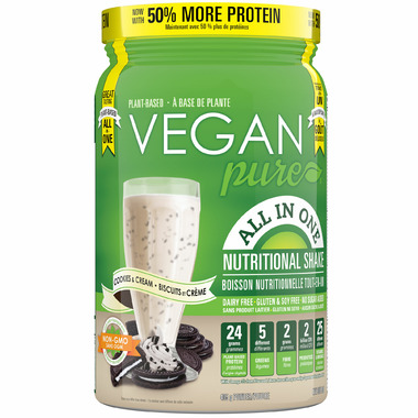 Vegan Pure All in One Protein Cookies & Cream