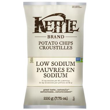 Kettle Low Sodium Potato Chips