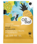 GoBio Organic Sour Fruit Gummies