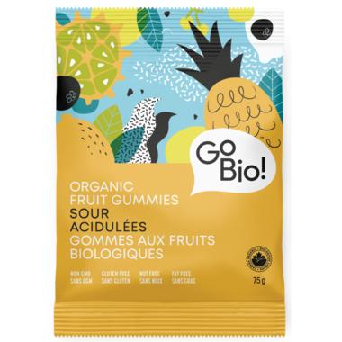 GoBio Organic Sour Fruit Gummies