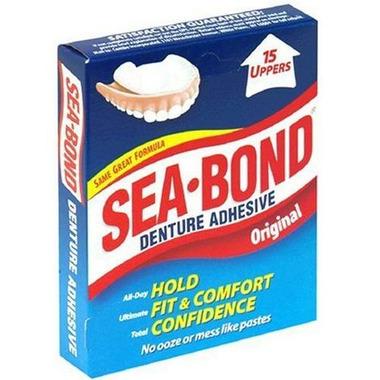 Sea Bond Denture Adhesive Original