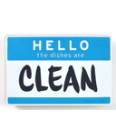 Fred and Friends Flipside Hello Dishwasher Sign