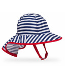 Sunday Afternoon Infant Sunsprout Hat Navy Stripe