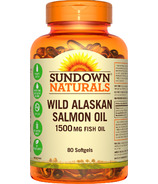 Sundown Naturals Wild Alaskan Salmon Oil
