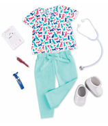 Our Generation Healthy Paws Vet Outfit