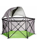 Summer Infant Lime Pop n Play Ultimate Playard with Canopy