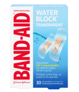 Band-Aid Water Block Plus Clear Bandages