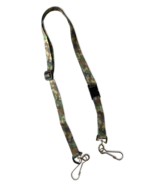 Happy Adjustable Lanyard With Safety Breakaway Clasp Camouflage