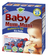 Hot-Kid Baby Mum-Mum Organic Blueberry & Goji Rice Rusks