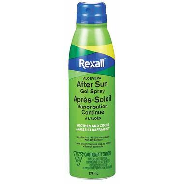 Rexall Aloe Vera After Sun Gel Spray