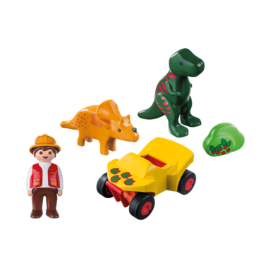 Playmobil Explorer with Dinos