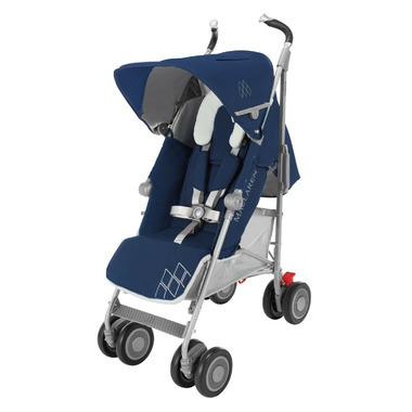 Maclaren Techno XT Medieval Blue and Silver