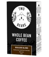 Two Bears Whole Bean Coffee Boulder Blend