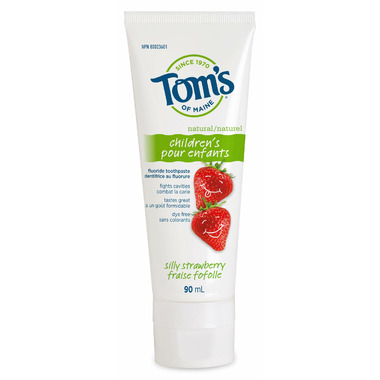 Tom\'s Of Maine Silly Strawberry Fluoride Toothpaste