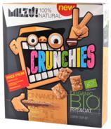 Milzu Organic Cereal Rye & Oat Cinnamon Crunchies