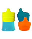 Boon Snug Spout With Cup Orange Multi