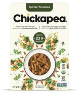 Chickapea Pasta Spirals