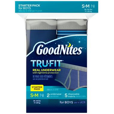 GoodNites Tru-Fit Real Underwear For Boys
