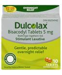 Dulcolax Overnight Relief Stimulant Laxative