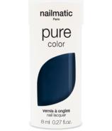 nailmatic Lou Nail Polish Navy Blue