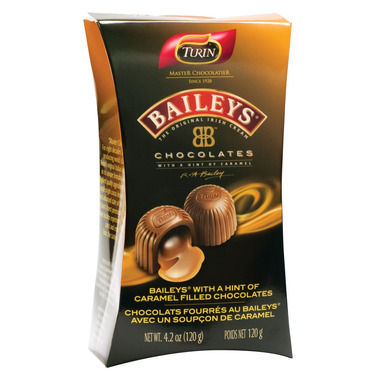 Turin Baileys With A Hint Of Caramel Filled Chocolates