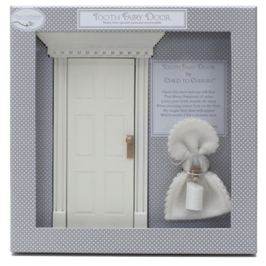 Child to Cherish Tooth Fairy Door White