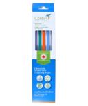 Colibri Silicone Straws + Cleaner Multicolour