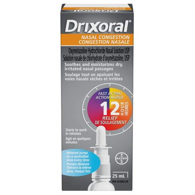 Drixoral Metered Pump Nasal Congestion Solution