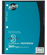 Hilroy Neatbook 3-Subject Notebook