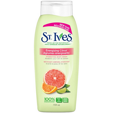 St. Ives Energizing Citrus Body Wash