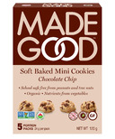 MadeGood Soft Baked Mini Cookies Chocolate Chip