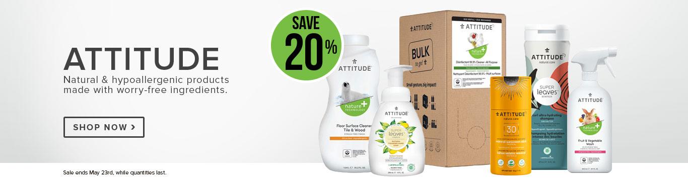 Save 20% on ATTITUDE