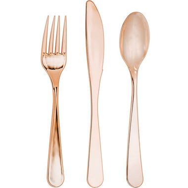Elise Assorted Cutlery Rose Gold