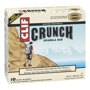 Clif Crunch White Chocolate Macadamia Nut Granola Bars
