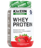 Kaizen Naturals Concentrate Whey Protein Strawberry