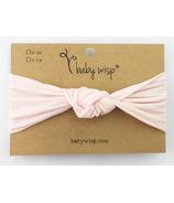 Baby Wisp Headband Turban Knot Pale Pink 3M+