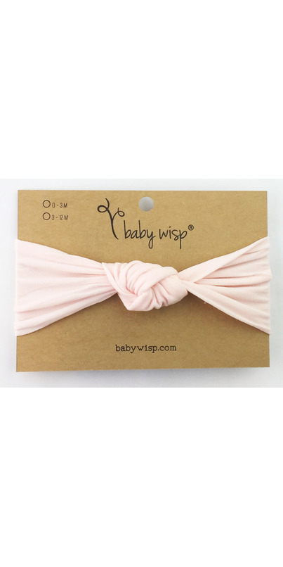 9b6945872e9 Buy Baby Wisp Headband Turban Knot Pale Pink 3M+ from Canada at Well.ca -  Free Shipping