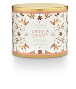 Illume Large Tin Candle Cassia Clove