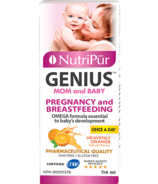 Nutripur Mom and Baby Omega-3 Plus Orange Flavour