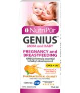 Nutripur Mom and Baby Omega-3 Plus Saveur d'orange