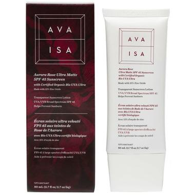 Ava Isa Aurora Rose Tinted Facial Sunscreen