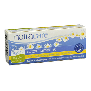 NatraCare Organic Tampons Non-Applicator Style