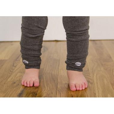 BabyLegs Organic Leg Warmers Heather Medium Grey